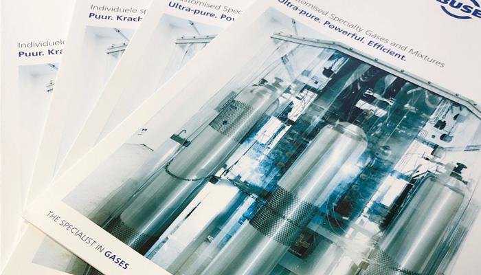 Titelseiten Folder Specialty Gases