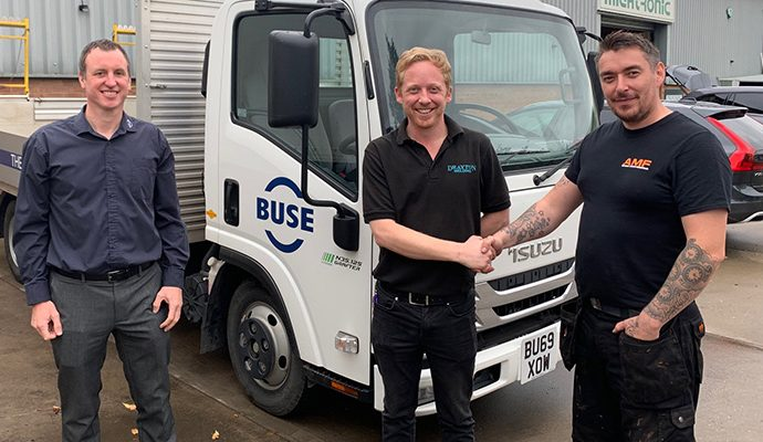Business continues to grow – New agent thrilled by BUSE