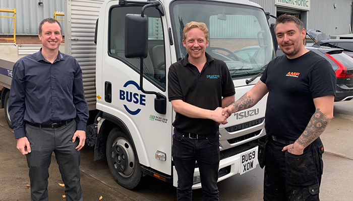 Geschäft wächst weiter – neuer Agent von BUSE begeistert